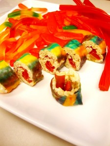 Candy Sushi Roll
