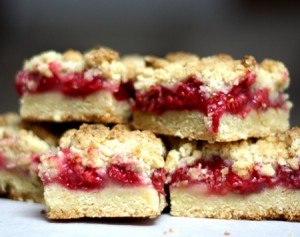 Sweet Sallys Raspberry Bars