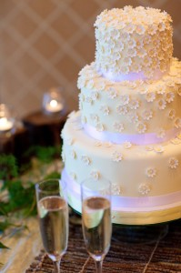 Ritz Carlton Wedding Cake (Denver)