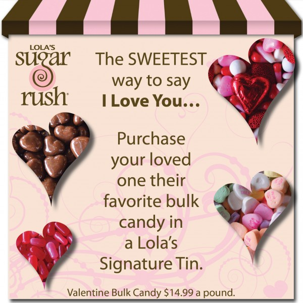 Lolas Sugar Rush Valentine Candy Denver