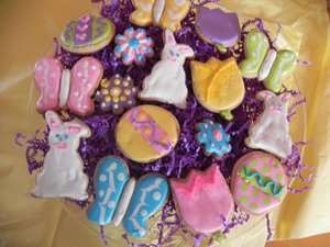 Frosted by Lesley Easter Cookies