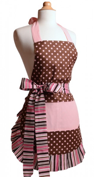 New-pink-chocolate-front apron