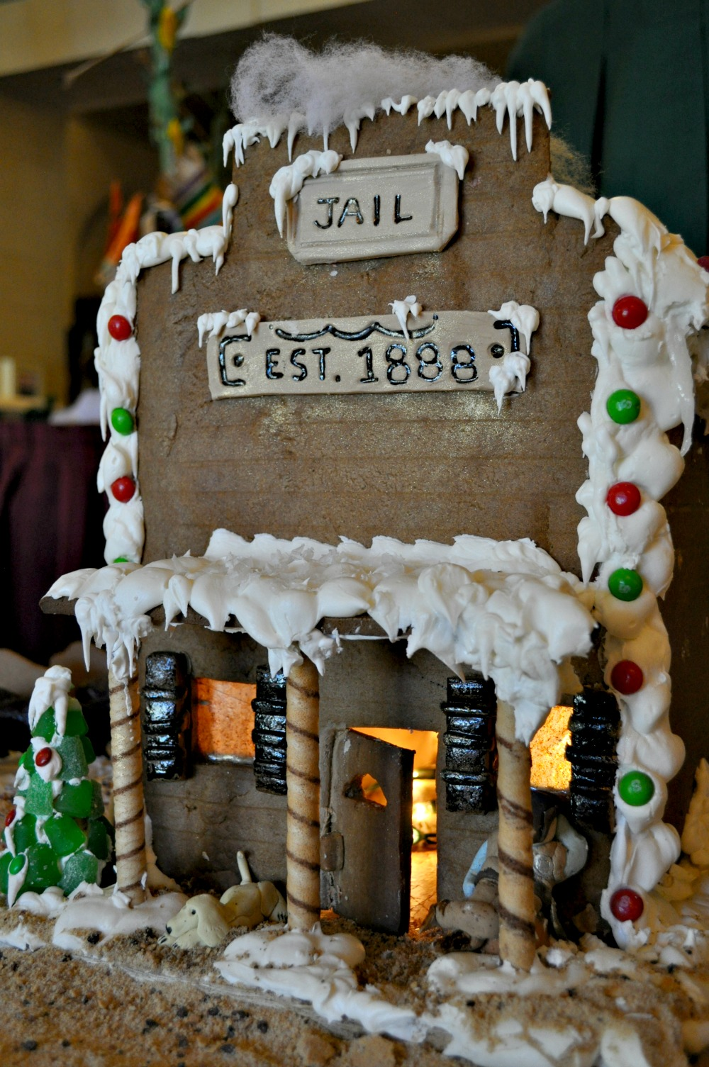 wild west gingerbread house