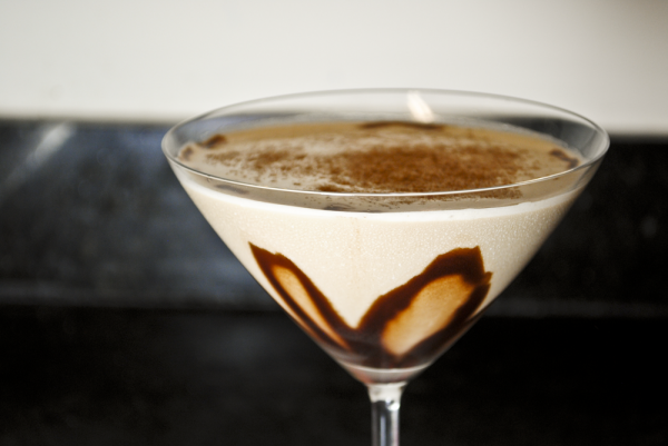 chocolate brandy martini