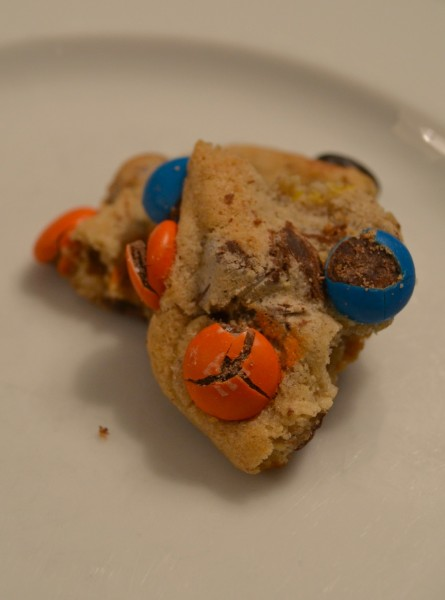 m&m cookie