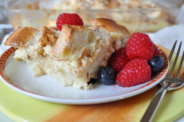 Cream Cheese Bread Pudding