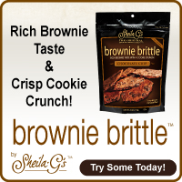 Brownie Brittle in Sugar Loco Holiday Gift Guide