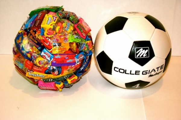 Covered In Candy - Soccer Ball