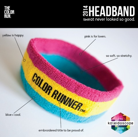 The Color Run Gear with Sugar Loco