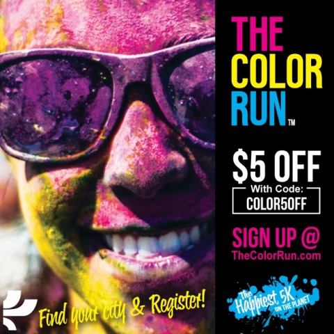 The Color Run with Sugar Loco Discount Code