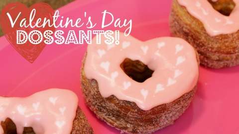 Valentines Day Cronuts