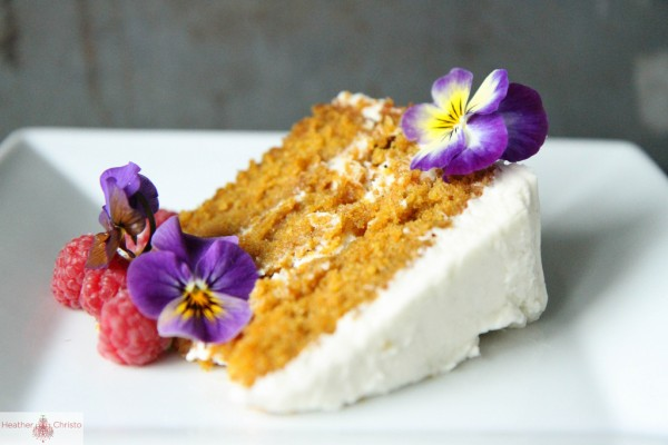 Carrot Cake with Cream Cheese Frosting by Heather Christo @heatherchristo