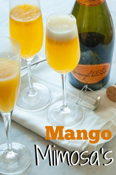 Mango Mimosa's for Brunch? Sure why not! @WholeFoods