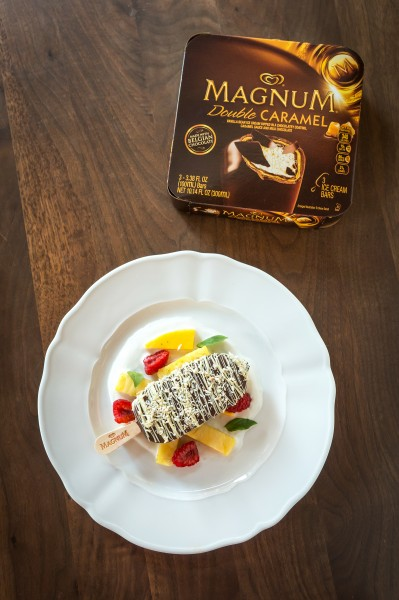 MAGNUM Double Caramel Cool Down From @MAGNUMIceCream !!!