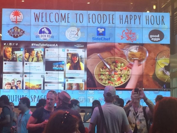 Foodie Happy Hour at YouTube Space LA pt. 2