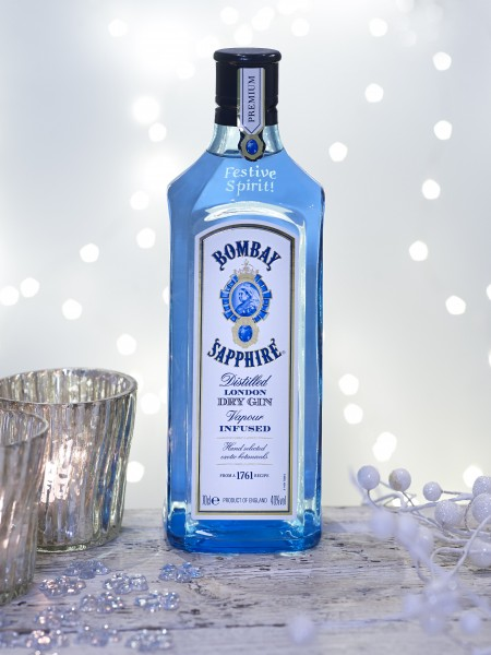 Tasty New Cocktail from Bombay Sapphire – Winter's Kiss!