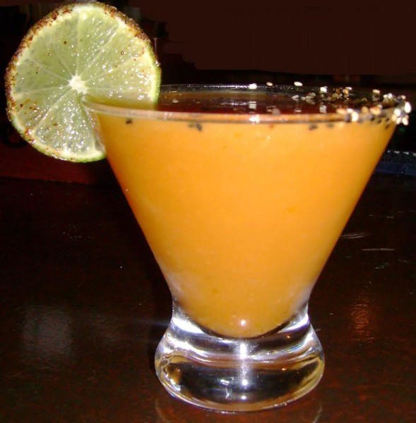 Pumpkin Margarita From Crema Restaurant, New York, NY!!!