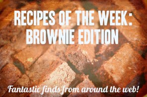 Recipe Roundup: Brownies