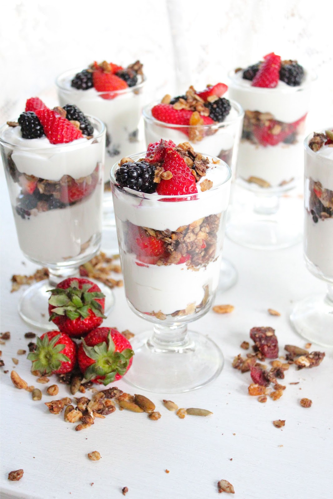 Yogurt Parfaits with a Twist!
