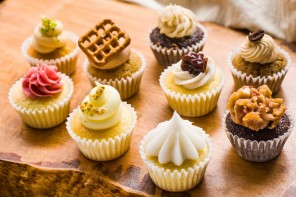 Boozy Cupcakes from Prohibition Bakery!