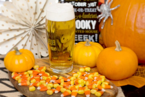Candy Corn + Belgian Pale Lager