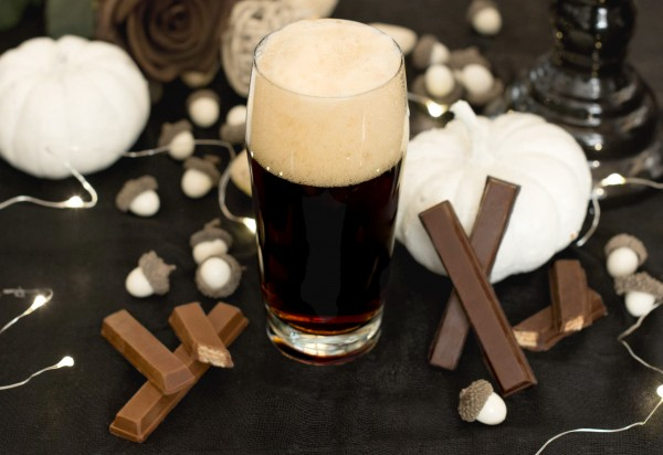 Chocolate Bar with Wafers + Brown Ale