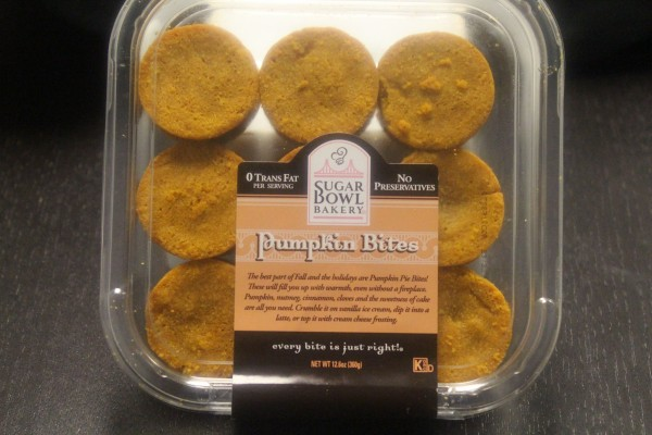 Sugar Bowl Bakery Pumpkin Bites in Package