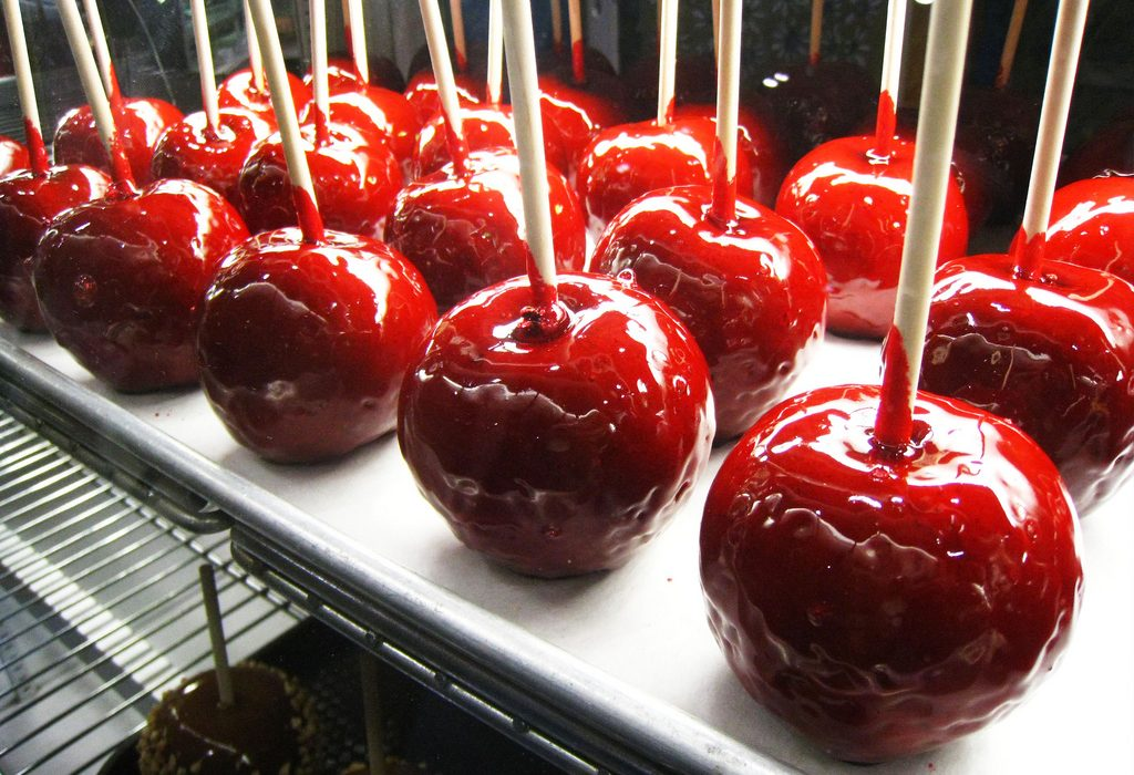 Home Made Candy Apples